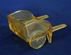 Miniature hand cart novelty - marigold