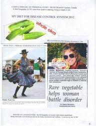 1998:  Okra was my discovery.