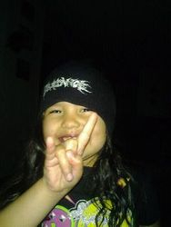 Never too young for metal!!