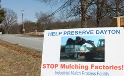 Signs Posted in Residents' Yards