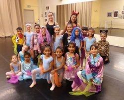Ballet 1/2 Halloween
