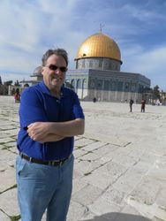 Jay at the Dome of the Rock
