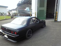 R32 Tail lights on a S13 coupe