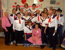 February 18, 2011 Visitation to Cowtown Singles