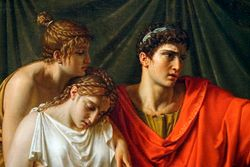 Wicar, Virgil Reading the Aeneid to Augustus and His Family, 1790-93, Chicago
