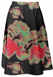 Fleurs skirt