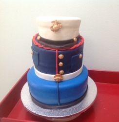 Ada Rosas Marine Cake
