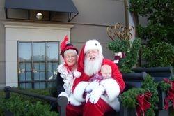 Santa and Mrs. Claus at The Summit