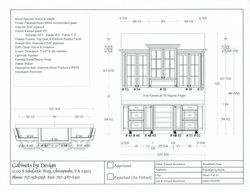 Bar Plan & Elevation