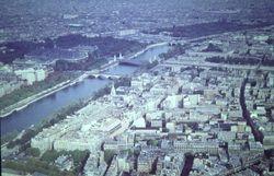 610 River Seine from Eiffel Tower
