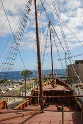 The Santa Maria replica and Maritime Museum in Santa Cruz