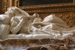 Bernini, Blessed Ludovoica Albertoni on Her Deathbed, San Ripa