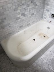 White Tub Before