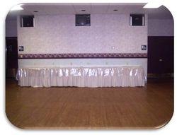 Empty Cake Table