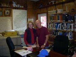 Chuck & Barbara Schroeder from El Cajon, CA