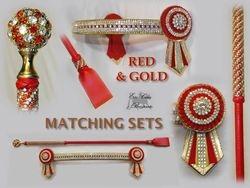 Lacey Red Paris Set