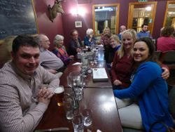 Dinner Party at Lochailort Inn January 2016