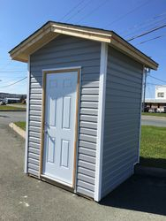 6' x 6' Standard shed