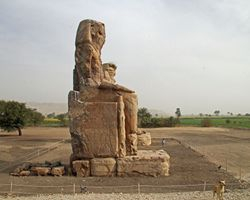 Thebes : Colossi of Memnon