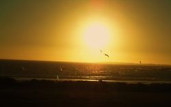 Sunset at Blouberg Beach