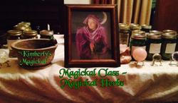 Magick Class - Magickal Herbs