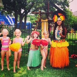 Children's birthday Luau