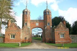 Long Melford - Gatehouse of Melford Hall