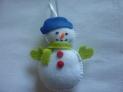 HAND-MADE FELT CHRISTMAS DECORATIONS Made to order - £2.50 eachHAND-MADE FELT CHRISTMAS DECORATIONS Made to order - £2.50 each