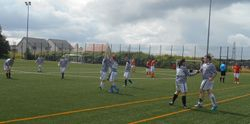 CELEBRATIONS AFTER SEBO SCORES OUR FIRST GOAL