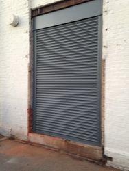 Site 2. Roller shutter.