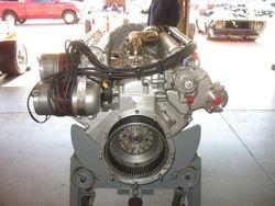 rear view-Bosch mag & clutch drive