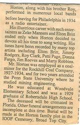 Horton, Vaughn 1988 - Part 2