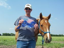 2 Wins from Fieldstone Equestrian Park Horse Show!