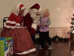 Santa, Mrs. Claus & Kids
