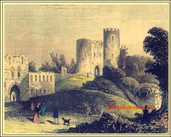 The Castle and Keep. 1860s
