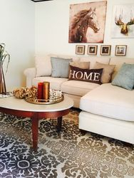 Staged Living space