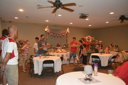 Large party room included in party price
