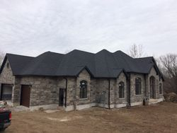 charcoal  granite ridge metal shingle