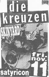 1988-11-11 Satyricon, Portland, OR