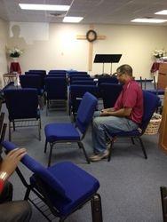 Pastor Rountree at Work