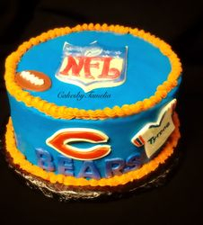 Chicago Bears Cakes