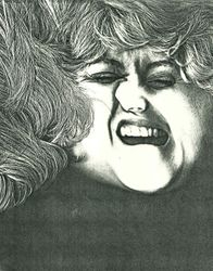 It Ain't Over Til the Fat Lady Sings, Photocopier, 8½x11, Original Sold