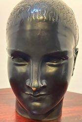 tête d'une femme art déco Raymond Léon Rivoire