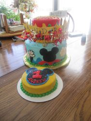 Mickey's Clubhouse 1st Birthday