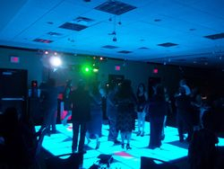 A&S LED LIGHTED DANCE FLOOR