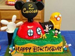 Funhouse Birthday Cake