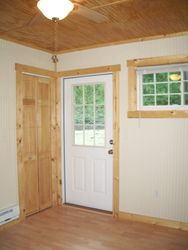 Bedroom with Rear Exit