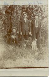 Blair, Lawrence, and Jackson Fisher