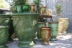 #29/ FRENCH ANDUZE POTS GROUP