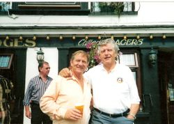 Frank Rimer & Dave Prowse MBE